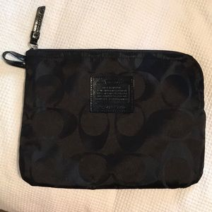 Coach Makeup Bag/general use bag
